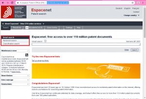 جستجوی تصویری espacenet